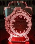 بالبینگ چراغ خواب سه بعدی ساعت رومیزی