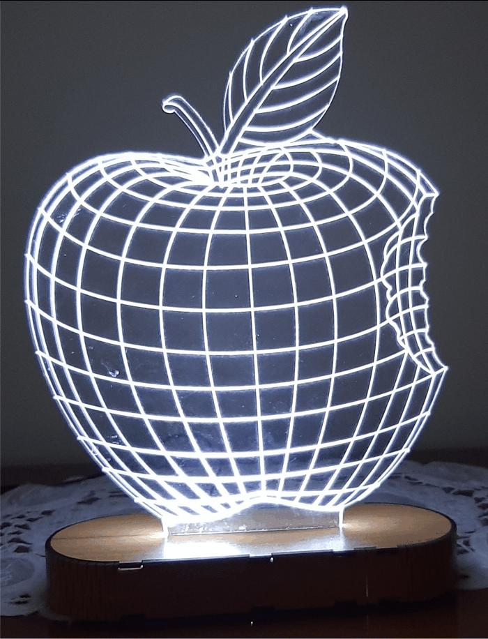 بالبینگ چراغ خواب سیب گاز زده